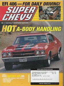 Super Chevy Magazine Hot A Body Handling June 2003 , Big Engines, Chevelle