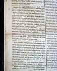 Confederate States of America CHARLESTON South Carolina Civil War 1862 Newspaper