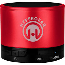 HyperGear MiniBoom Wireless Bluetooth Speaker w/ Built-In Microphone - Red