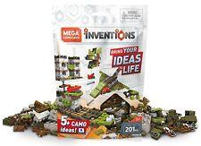Mega Bloks Inventions Mega Construx Camo Brick Building Set