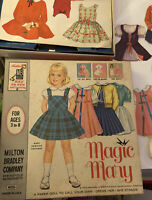 VINTAGE UNCUT 1956 OKLAHOMA PAPER DOLLS~RODGERS /& HAMMERSTEIN~#1 REPRODUCTION!