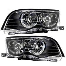 1999 00 BMW 323I/328I,2001 325I/330I NON-XENON HEADLIGHTS HEADLAMPS LIGHTS PAIR