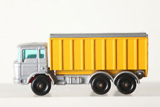 Matchbox Lesney No 47 DAF Dumptruck Container Truck Silver/Yellow (136059)
