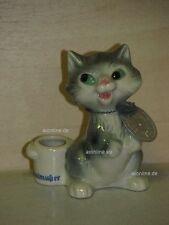 +# A002703_10 Goebel Archiv Malmuster Katze Cat Kerzenhalter 54-411 Plombe