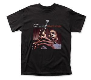 John Coltrane Giant Steps T-shirt Alb Jazz Gift Unisex Heavy Cotton Tee S-5XL