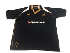Australia Wallabies Rugby Union Qantas  Jersey Mens Size 3xl In Vgc
