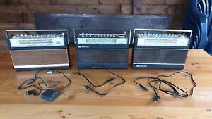3 x ITT Schaub Lorenz TOURING International Kofferradio Transistor Radio