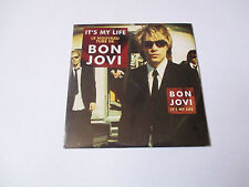 Bon Jovi - it's my life - cd single 2 titres 2000 (neuf scellé)