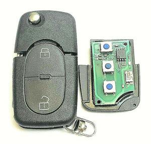 Auto Funkschlüssel 433-434MHz 2Tasten Fernbedienung 1J0959753A ID48 für VW Golf
