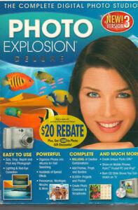NOVA PHOTO EXPLOSION DELUXE 3.0 (PC, 2006)