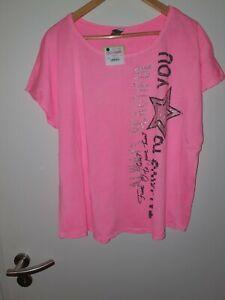 Shirt, Tredy, Pink Glow, Gr.3 (44/46), Neu Mit Etikett ***