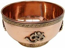 Copper Offering Bowl Om Sign Incense Charcoal Burner Free Ship And Great Price -