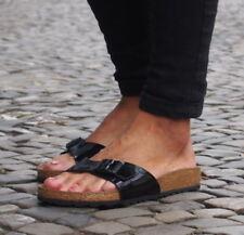 Birkenstock Damen-Sandalen-Flaches (kleiner als 1 cm) Madrid