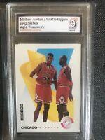 1992 Skybox Jordan Pippen #462 Psa 9