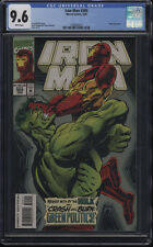 Iron Man #305 CGC 9.6 WP 1st Full Appearance of the Hulkbuster Armor