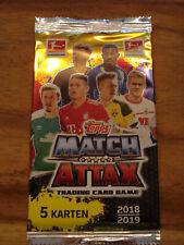 50 Booster Topps Match Attax Bundesliga 2018 / 2019 18/19 Neu  Display