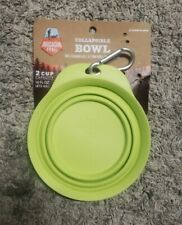 New listing 2 Cup Collapsible Bowl For Dogs Easy Clip