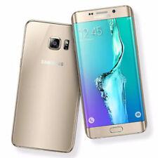 Téléphones mobiles jaunes Samsung Galaxy S6 edge 4G