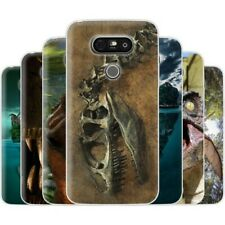 Dessana Dinosaur World TPU Silicone Protective Cover Phone Case Cover For LG