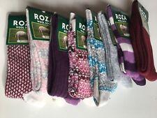 6 Pairs Women Ladies Wool Socks High Quality Cosy Long Winter Soft SocksUK ZEDGQ