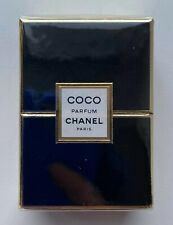 Chanel COCO parfum 7 ml 1/4 FL OZ VINTAGE NEVER opened SEALED BOX