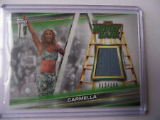 2019 Topps WWE Money in the Bank - Carmella Mat Relic 012/199