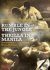 Rumble in the Jungle & Thrilla in Manilla [DVD] *NEU* Ali, Frazier, Foreman
