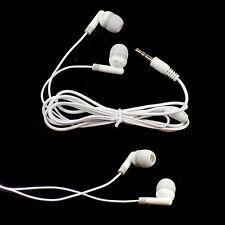 3.5mm In-ear Earbud Earphone Headphone Headest for Cellphone MP4 MP3 PSP White