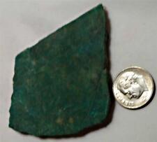 Verde Amazonita Onza Piedra Preciosa Rough para Cabujones 52x49mm