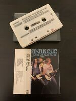 STATUS QUO - TO BE OR NOT TO BE (GERMAN ISSUE CASSETTE TAPE) CONTOUR – CN4 2062