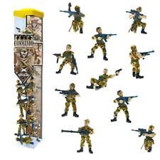 Plastoy - Military Commando 2 - Operation Desert - 10 Figures Set - Soldiers New