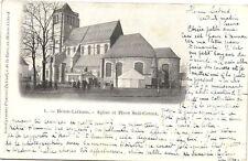CPA  Henin-Liétard - Eglise et Place Sadi-Carnot    (172496)