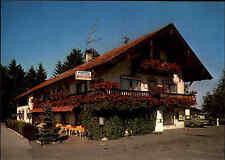 IRSCHENBERG Bayern Hotel Gasthaus Gasthof Kramerwirt color Ansichtskarte ungel.