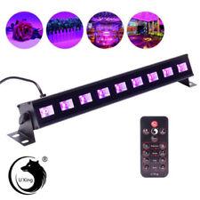 27W 9 LED UV LED Black Light Bar Stage Lighting DJ Club Party Lamp w/Control