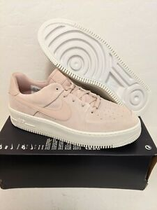 Nike Air Force 1 Sage Low Shoes Particle Beige Women's Size 12 AR5339-201