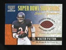 2000 PLAYOFF MOMENTUM SUPER BOWL SOUVENIRS SIGN OF GREATNESS W PAYTON BALL #/25