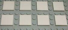Lego Fliese - Kachel 2x2 Weiss 8 Stück                                     (586)