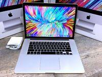 Apple MacBook Pro 15 RETINA Laptop /  i7 / 1TB SSD / MacOS / LAPTOP
