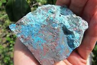 Chrysocolla crystal Natural unpolished raw specimen lungs Throat Chakra 177g