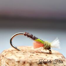 Lightweight Olive Buzzers size 16 (Set of 3) Fly Fishing Flies