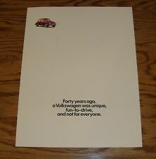 Original 1989 Volkswagen VW Full Line Sales Brochure Folder 89 Vanagon Jetta