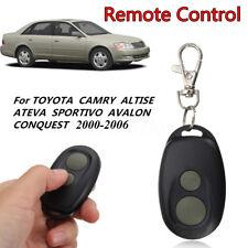 Car Remote Key Fob Keyless Entry For Toyota Camry ALTISE ATEVA SPORTIVO