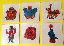 NEW! 48 CIRCUS TEMPORARY TATTOOS PARTY FAVORS REWARDS