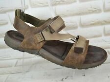 MERRELL Dark Earth Mens Leather Sport Sandals Walking Shoes Size 10 UK 44 EU