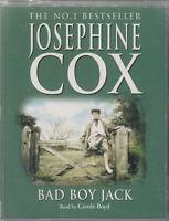 Josephine Cox Bad Boy Jack 2 Cassette Audio Carole Boyd FASTPOST