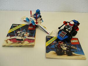 (E14 ) Lego Space Classic 6828, 6831 MIT BA 100% KOMPLETT