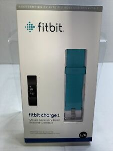 Fitbit Charge 2 Classic Accessory Band Large Turquoise