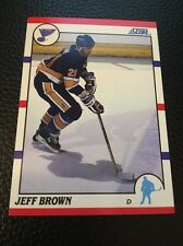 Jeff Brown  Blues 1990-1991 Score #41