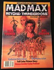 Mel GIBSON, Tina TURNER / Mad Max Beyond Thunderdome Souvenir Magazine 1st 1985