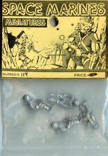 Warhammer 40,000 40K 28mm Space Marine Miniatures Spaceman Metal Figure Kit #114
